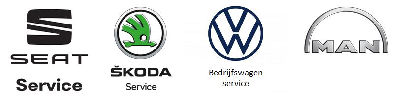 Skoda Service, VolksWagen Bedrijfswagens Service, MAN